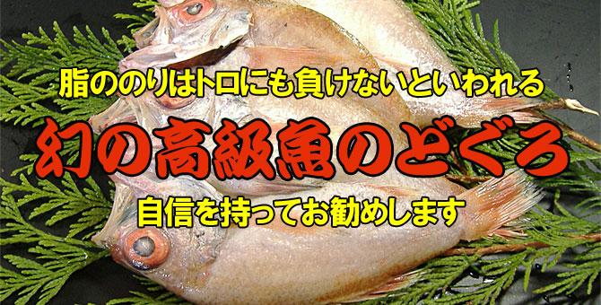脂の乗りはトロにも負けないと言われる 幻の高級魚「のどぐろ」
